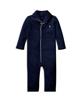 Ralph Lauren - Boys' French-Rib Cotton Coverall - Baby