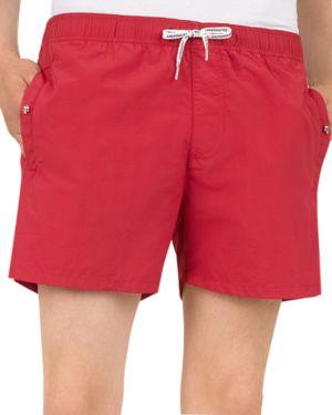 The Kooples Skull-Decal Swim Shorts
