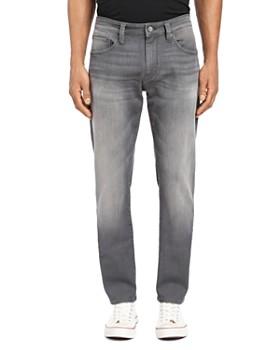 Mavi - Marcus Straight Slim Fit Jeans in Light Gray Brooklyn