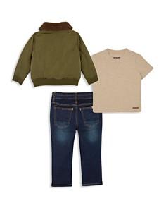Hudson - Boys' Jacket, Tee & Jeans Set - Little Kid