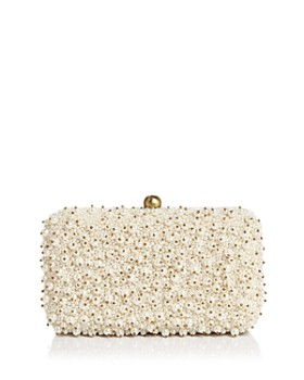From St Xavier - Cassie Medium Beaded Box Clutch Crossbody