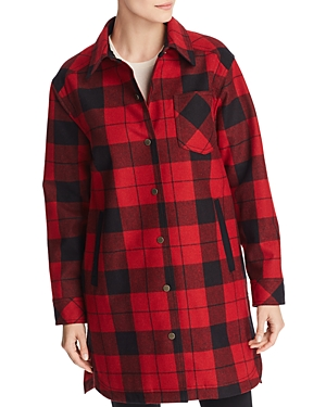 Pendleton Fargo Buffalo Plaid Duster Coat