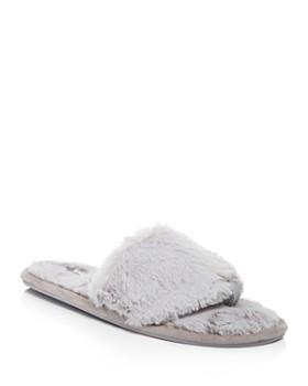 PJ Salvage - Faux Fur Slide Slippers ... 187e6ae5a2c6