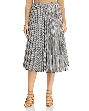 Donna Karan - Pleated Midi Skirt