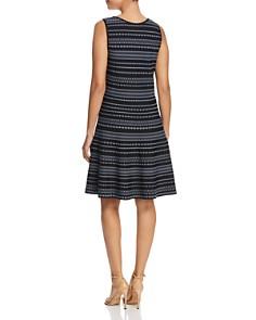 NIC and ZOE - Geo Stripe Twirl Dress