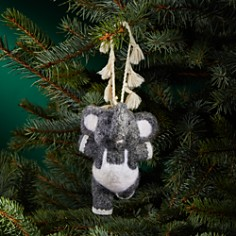 Bloomingdale's Felted Elephant Ornament - 100% Exclusive_0