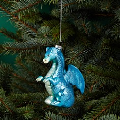 Bloomingdale's Dragon Glass Ornament - 100% Exclusive_0