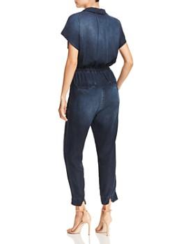 Bella Dahl - Tie-Front Chambray Jumpsuit