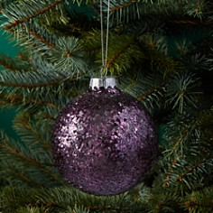 Bloomingdale's Glass Glitter Ball Ornament - 100% Exclusive_0