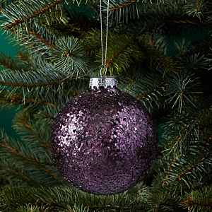 Bloomingdale's Glass Glitter Ball Ornament - 100% Exclusive