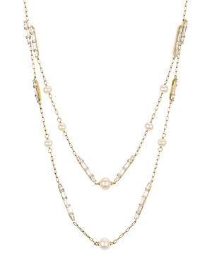 Nadri Josephine Layered Cultured Freshwater Pearl Necklace, 16