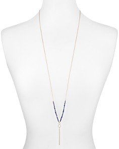 Nadri - Mira Two-Way Lariat Necklace, 36""