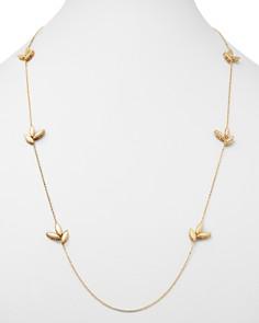 "Roberto Coin - 18K Yellow Gold Diamond Petals Diamond Necklace, 31"" - 100% Exclusive"