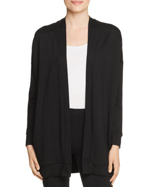 CAPOTE OPEN-FRONT LONG CARDIGAN