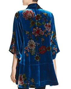 Johnny Was - Vivian Printed Velvet Kimono