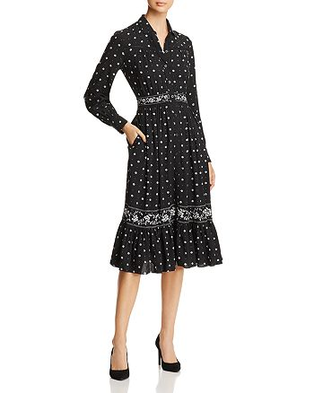 599f7cd87849 kate spade new york Bandana Print Shirt Dress | Bloomingdale's