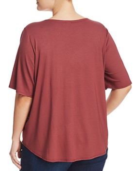 Cupio Plus - Elbow-Sleeve Swing Top