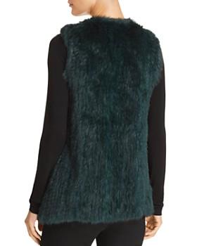 525 America - Rabbit Fur Vest - 100% Exclusive