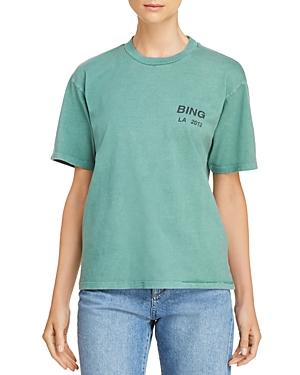 Anine Bing La Logo Tee