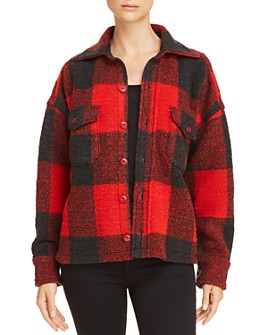 Anine Bing - Bobbi Plaid Flannel Jacket