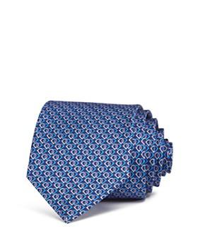 Salvatore Ferragamo - Fiocco Linked Gancini Silk Classic Tie