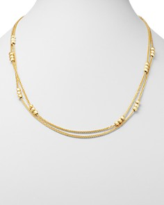 "Bloomingdale's - Layered Bead Double Strand Necklace in 14K Yellow Gold, 24"" - 100% Exclusive"