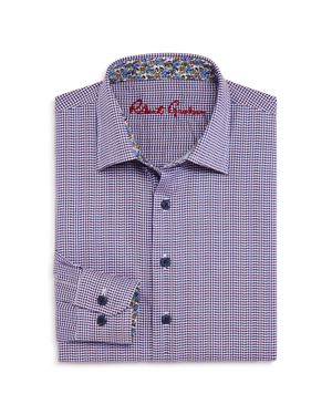 Robert Graham Boys' Patterned Dress Shirt - Big Kid