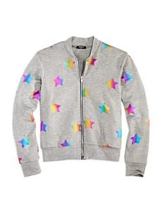 Terez Girls' Rainbow Foil Star Bomber Jacket - Big Kid - Bloomingdale's_0