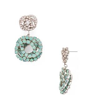 Dannijo - Chrysanthe Drop Earrings