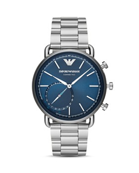 Emporio Armani - Stainless Steel Hybrid Smartwatch, 43mm