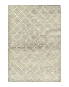 """Solo Rugs - Moroccan 1 Hand-Knotted Area Rug, 4' 1"""" x 6' 1"""""""