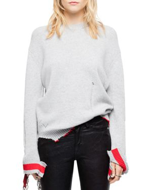 JACK DISTRESSED CASHMERE SWEATER