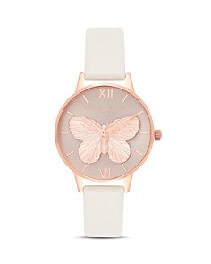 Olivia Burton - 3-D Butterfly Watch, 30mm