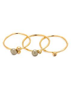Gorjana Vienna Cultured Freshwater Pearl Shimmer Rings - Bloomingdale's_0