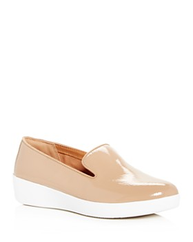 FitFlop - Women's Audrey Smoking Slipper Platform Loafers