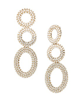 BAUBLEBAR - Mimi Hoop Drop Earrings