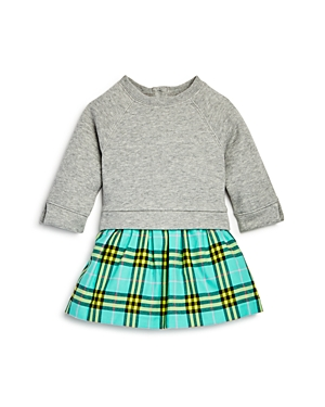Burberry Girls Francine Check Skirt Sweatshirt Dress  Baby