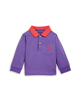 Burberry - Boys' Color-Block Logo Polo Shirt - Baby