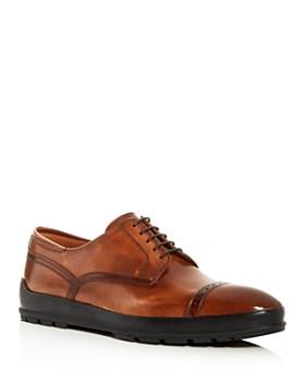 Bally - Men's Reigan Leather Brogue Cap-Toe Oxfords