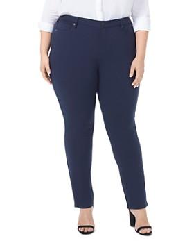 NYDJ Plus - Sheri Slim Ponte Pants - 100% Exclusive