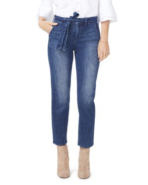 JENNA STRAIGHT TROUSER JEANS IN LUPINE