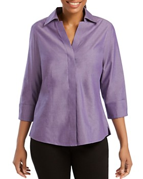 Foxcroft - Concealed Button-Down Top