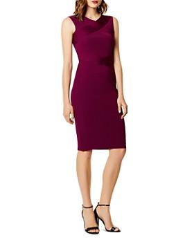 KAREN MILLEN - Crisscross Body-Con Dress
