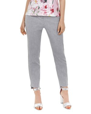 Ted Working Title Daizit Skinny Crop Pants, Grey