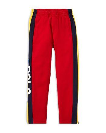 afac59a1de5a Ralph Lauren Boys  Polo Hi Tech Striped Double-Knit Pants - Big Kid ...