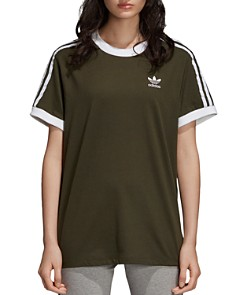 adidas Originals - Three Stripe Jersey Tee