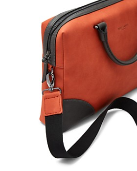 Ted Baker - Dayof Faux Nubuck Document Bag