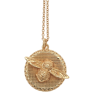 Olivia Burton Bee Disc Necklace, 18-Jewelry & Accessories