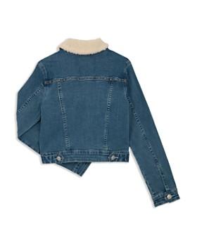 Hudson - Girls' Mariah Denim Jacket with Sherpa Collar, Big Kid - 100% Exclusive