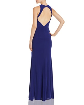 Avery G - Cross-Front Open-Back Gown - 100% Exclusive